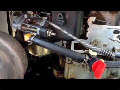 briggs stratton  hp ohv carburetor overhaul