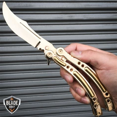 Butterfly Knife Csgo Black Galaxy csgo asiimov balisong butterfly knife trainer limited