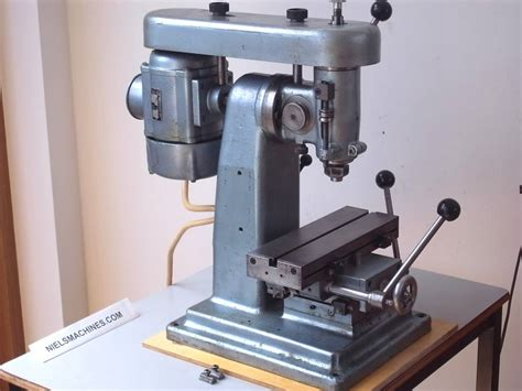 Watchmaker Milling Machine Takes B8 Collets Niels Machines