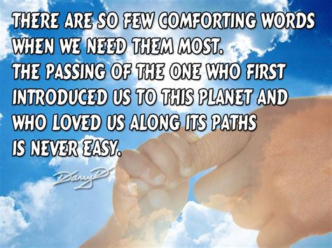 Comforting Words After A by There Are So Few Comforting Words When We Need Them Most