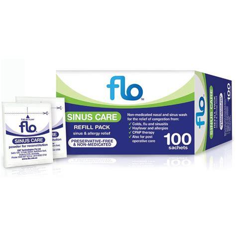 Sinus Care buy flo sinus care refill sachets 100 at chemist warehouse 174