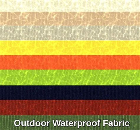 Waterproof Upholstery Fabric by Outdoor Upholstery Waterproof Anti Uv Outdoor Soft Solid