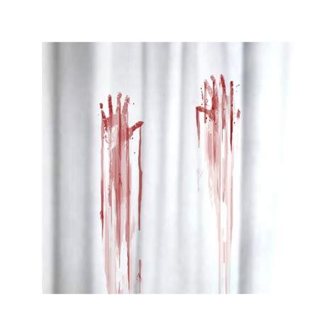 blood bath shower curtain shower curtain quot blood bath quot the gadget spot