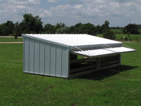Pig Sheds For Sale by Hog Sheds With Shade Door Diy Goats Animal