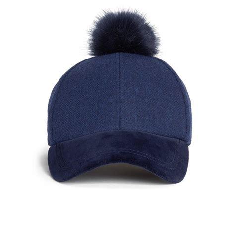 Pom Pom Cap paul smith accessories s baseball cap with pom pom