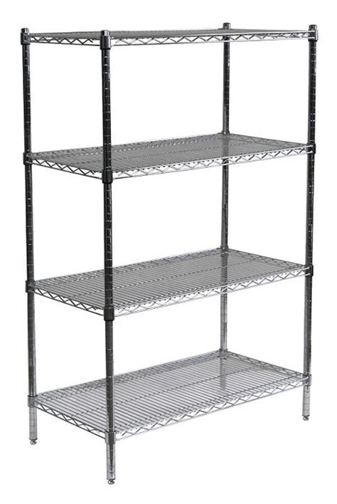 Chrome Pantry Shelves by 25 Best Ideas About Wire Shelving Units On
