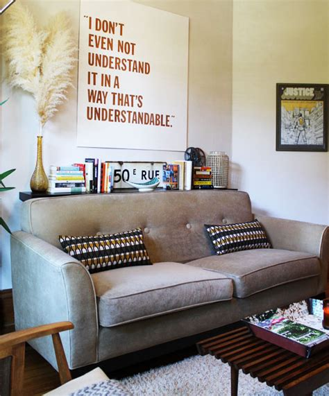 behind sofa decor onechicklette