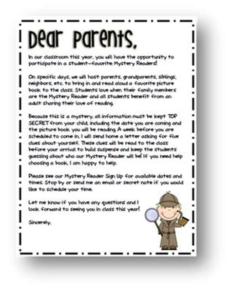 Parent Letter Reading Level The World S Catalog Of Ideas