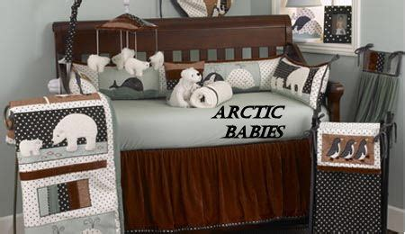 penguin crib bedding arctic nursery theme baby decorating ideas with penguins