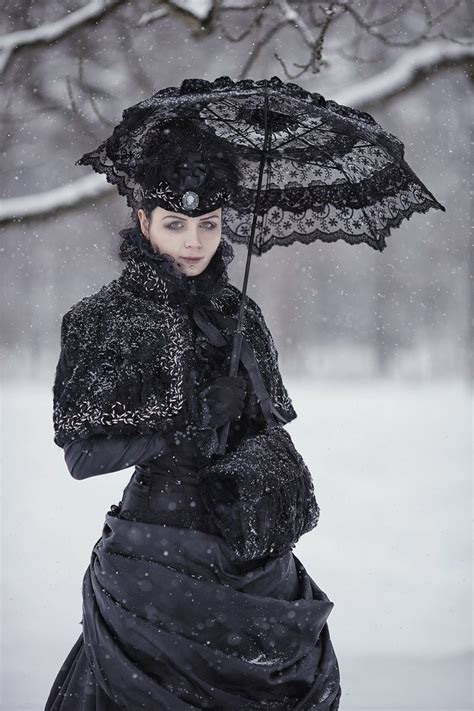victorian gothic victorian winter gothic gown by blackmart on deviantart