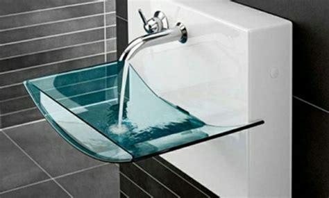 Small Half Bathroom Ideas Erstaunliche Glas Waschbecken Modelle F 252 R Jedes Badezimmer