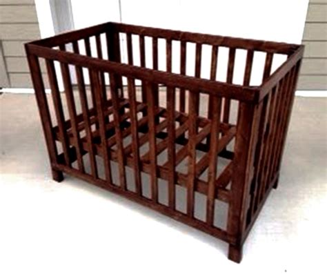 Wood Cribbing Design by Reader Showcase Low Rise Crib The Design