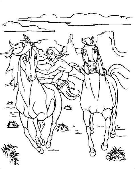 wild horses coloring pages to print spirit coloring pages