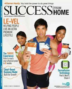 le vel success from home magazine thrive with le vel
