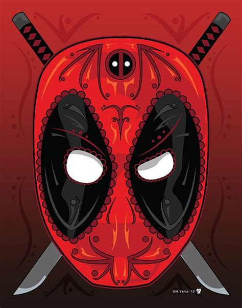loving deadpool sugar skull amazing comics pinterest