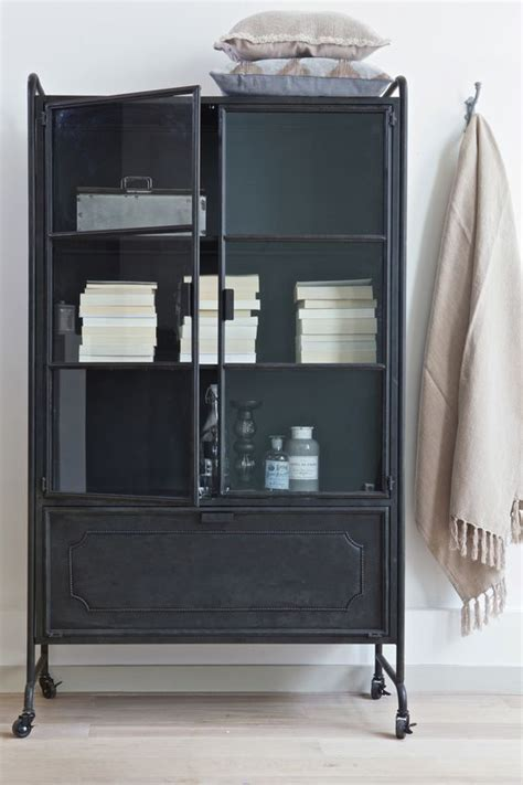 Industrial Bathroom Storage Cabinets Steel And Storage On