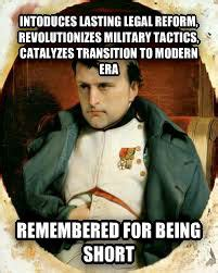 Napoleon Memes - bad luck napoleon adviceanimals