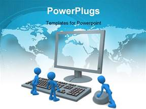 computer ppt templates computer generated image computer guys powerpoint