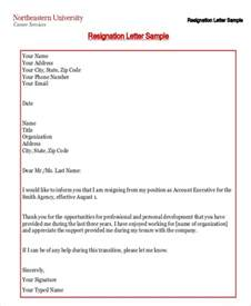 Resignation Letter Free Template by Resignation Letter Due To Relocation Template 5 Free