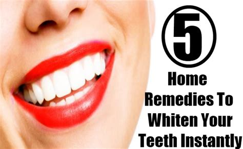 5 home remedies to whiten your teeth instantly gilscosmo
