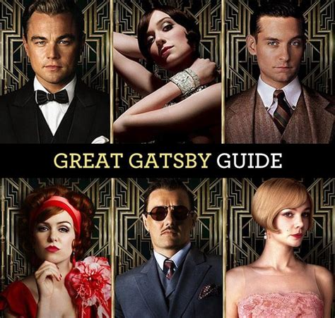 big symbols in the great gatsby the great gatsby character guide 1920s fashions in
