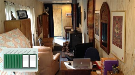 shipping container house  years living  shipping