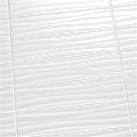 White Ceramic Bathroom Tile by White Wavy Tile Tile Designs
