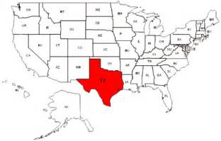 Texas Usa Map by Where Is Texas Locations Map Of Texas In United States