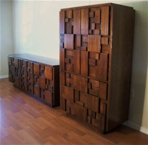 lane brutalist bedroom set modern bedroom set brutalist credenza dresser lane