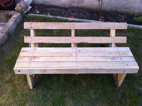 diy pallet benches 5 diy outdoor pallet furniture projects pallets designs