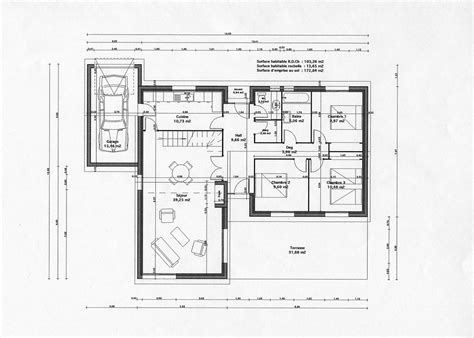Plan D Architecte De Maison by Plan Gratuit Maison Architecte Contemporaine