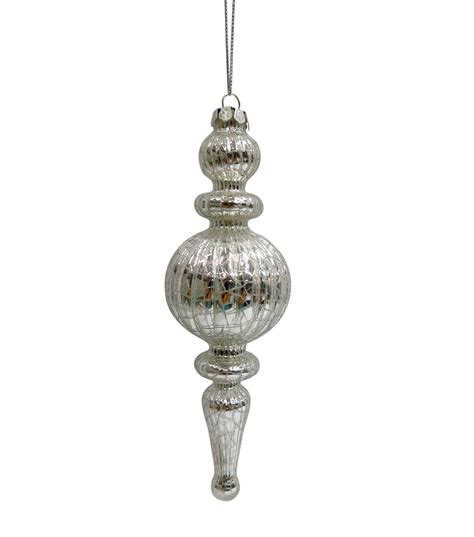 The Silver Spindle cheer silver spindle glass ornament jo