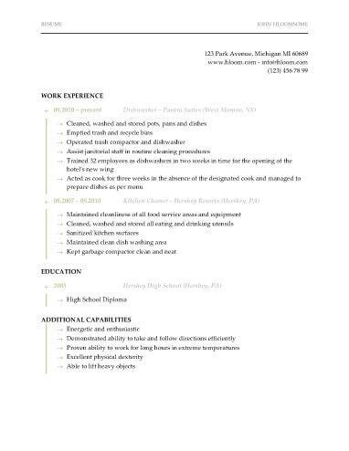 100 dishwasher skills for resume grant writing for dummies cover letter buy dissertation