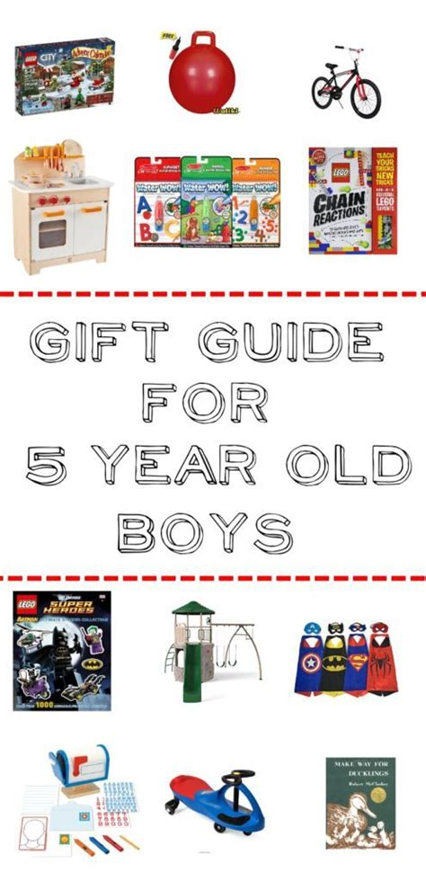 9 Gift Suggestions For Active by Gift Guide For 5 Year Boys 50 Ideas For Pretend
