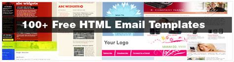 100 Free Html Email Newsletter Templates Patternhead Free Html Newsletter Templates