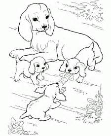 puppy coloring free printable coloring pages for