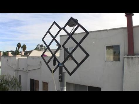 Fractal Tv Antenna Template by How To Build A Fractal Hdtv Antenna Vid Lt