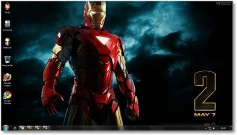 firefox iron man themes windows 7 themes iron man 2 theme and wallpapers for windows