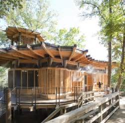 treehouse homes timber home design lakefront treehouse modern house designs