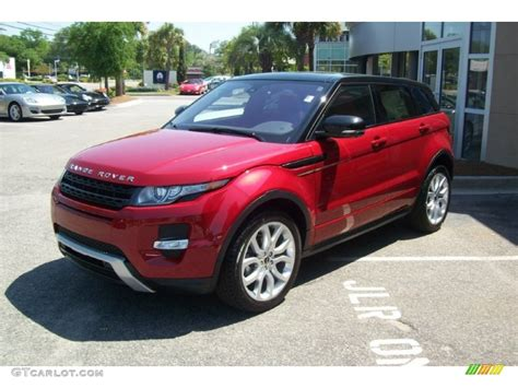 red land rover land rover range rover evoque 2018 new car release date