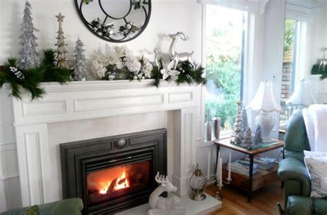 elegant fireplace christmas decorating ideas 50 mantle decoration ideas