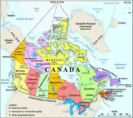 canada water bodies map maps of america