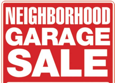 Second Garages Sale by Deer Creek 2nd Annual Community Garage Sale July 29 30