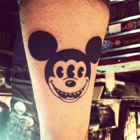 tribal mickey mouse tattoos scary mickey mouse best design ideas