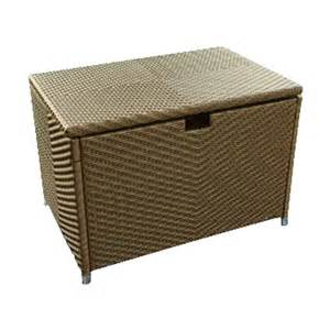 shop tortuga outdoor stonewick 36 in l x 24 in w resin deck box at lowes