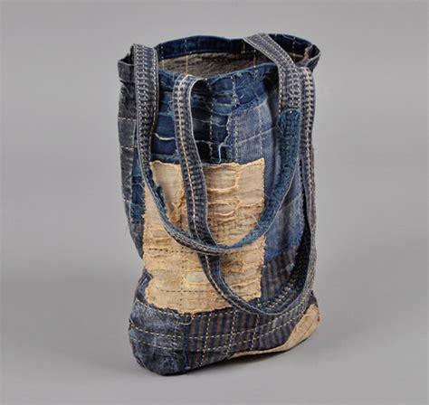 Dahana Sashiko Tote Bag patchwork boro sashiko tote bag hickoree s