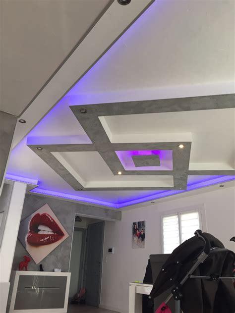 Faux Plafond Placo Design by Plafond Placo Design Relief Led Faux Plafond
