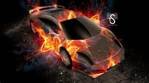 Flaming Blue Lamborghini Lamborghini Wallpapers In Hd For Desktop And