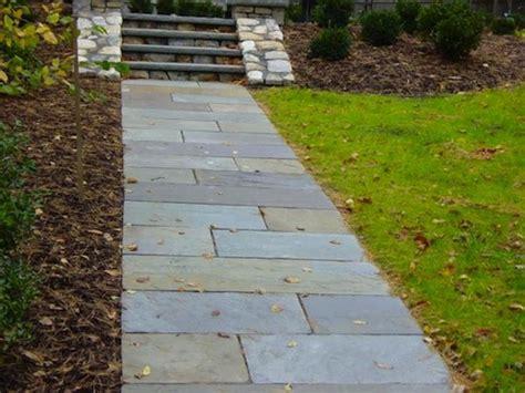 sidewalk paver designs bluestone paver walkways