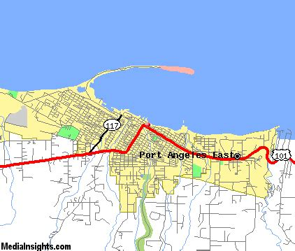 port angeles map port angeles vacation rentals hotels weather map and